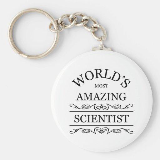 World's most amazing Scientist Keychain