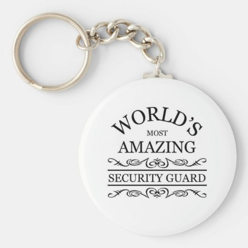 World's most amazing Security Guard Keychains