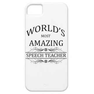 World's Most Amazing Speech Teacher iPhone 5 Cases