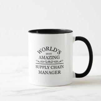 World's most amazing Supply chain manager Mug