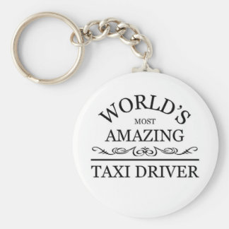 World's most amazing Taxi Driver Keychain