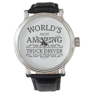 World's most amazing  Truck Driver Watch