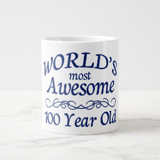 World's Most Awesome 100 Year Old Large Coffee Mug