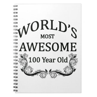 World's Most Awesome 100 Year Old Notebook