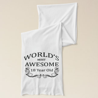 World's Most Awesome 18 Year Old Scarf