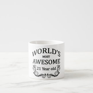 World's Most Awesome 21 Year Old Espresso Cup