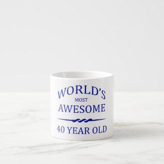 World's Most Awesome 40 Year Old Espresso Mug