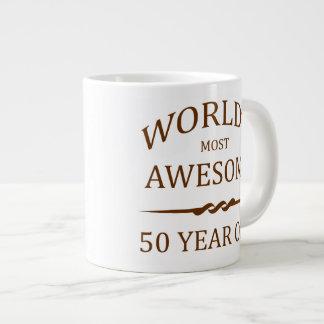 World's Most Awesome 50 Year Old Jumbo Mug