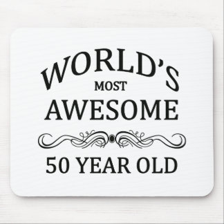 World's Most Awesome 50 Year Old Mousepads