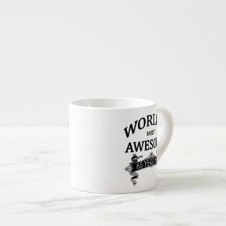 World's Most Awesome 65 Year Old Espresso Mug