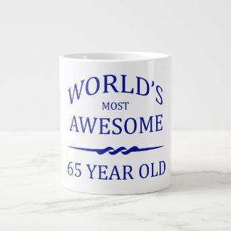 World's Most Awesome 65 Year Old Jumbo Mugs