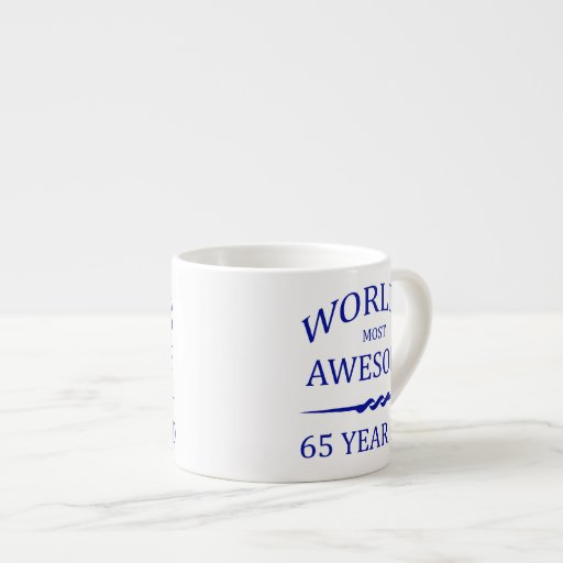 World's Most Awesome 65 Year Old Espresso Cup