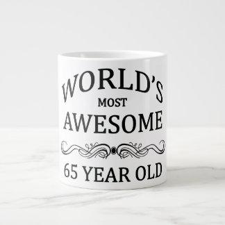 World's Most Awesome 65 Year Old Jumbo Mug