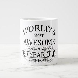 World's Most Awesome 80 Year Old Jumbo Mug