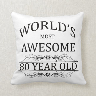 World's Most Awesome 80 Year Old Pillows