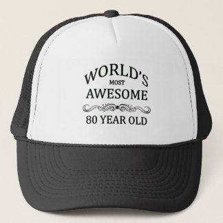 World's Most Awesome 80 Year Old Trucker Hat