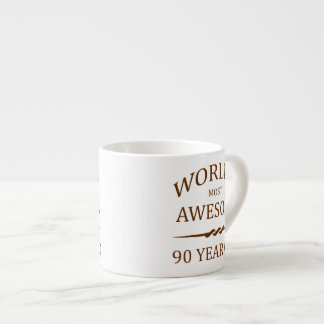 World's Most Awesome 90 Year Old Espresso Mug