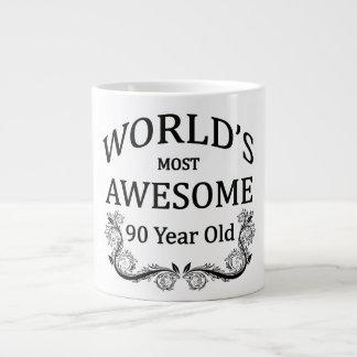World's Most Awesome 90 Year Old Jumbo Mug