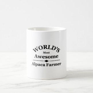 World's most awesome Alpaca Farmer Coffee Mug