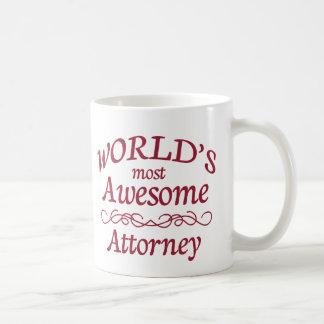 World's Most Awesome Attorney Coffee Mug
