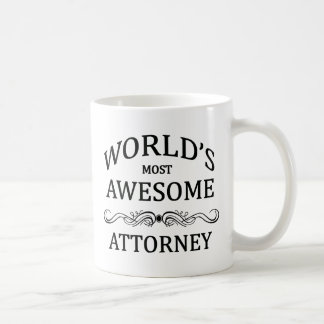 World's Most Awesome Attorney Coffee Mug