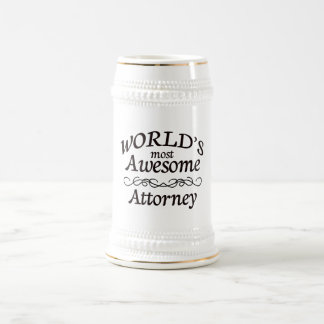 World's Most Awesome Attorney Mug