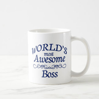 World's Most Awesome Boss Coffee Mug