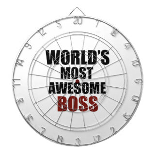 World's most awesome Boss Dartboard