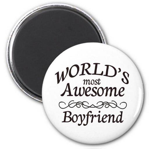 World's Most Awesome Boyfriend Fridge Magnets