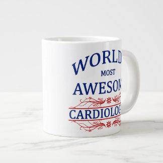 World's Most Awesome Cardiologist Large Coffee Mug
