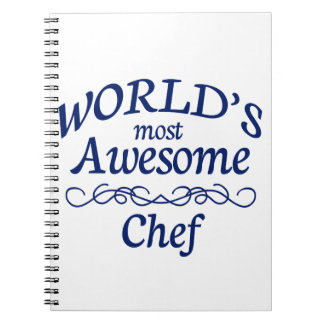 World's Most Awesome Chef Note Book