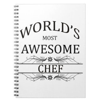 World's Most Awesome Chef Notebooks