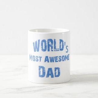 World's Most Awesome Dad Mug
