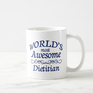 World's Most Awesome Dietition Coffee Mug