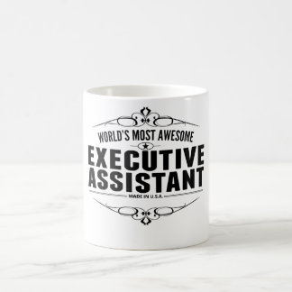 World's Most Awesome Executive Assistant Coffee Mug