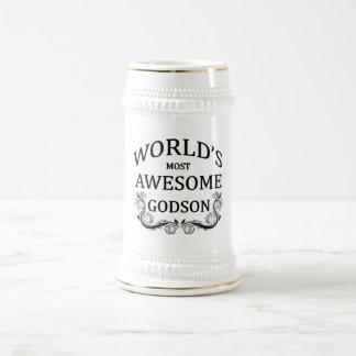 World's Most Awesome Godson Mugs