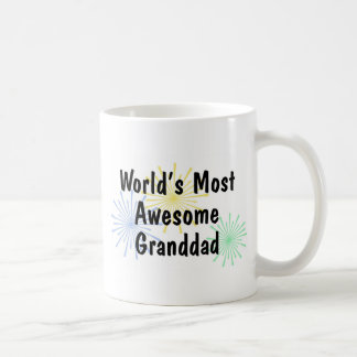 World's Most Awesome Granddad Mug