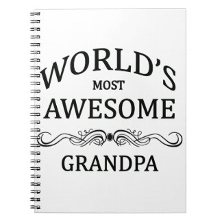 World's Most Awesome Grandpa Notebook