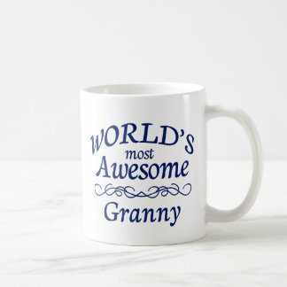 World's Most Awesome Granny Coffee Mug