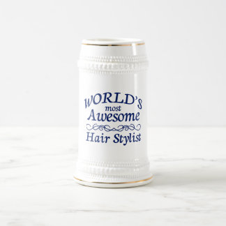 World's Most Awesome Hair Stylist Mugs