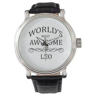 World's Most Awesome Leo Wrist Watch