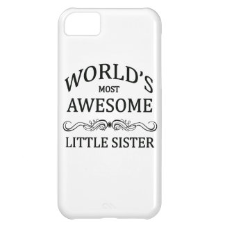 World's Most Awesome Little Sister iPhone 5C Covers