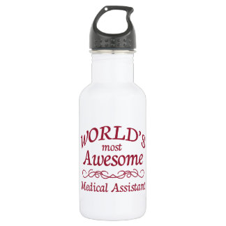 World's Most Awesome Medical Assistant 532 Ml Water Bottle