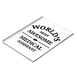 World's most awesome medical assistant notebooks