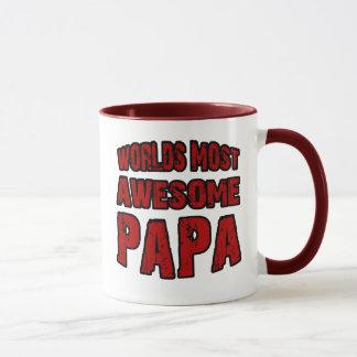 Worlds Most Awesome Papa Mug