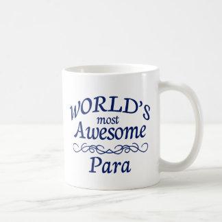 World's Most Awesome Para Coffee Mug