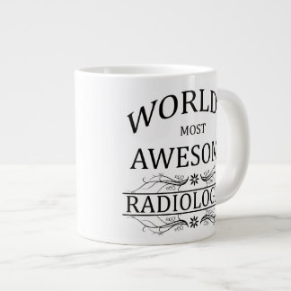 World's Most Awesome Radiologist Large Coffee Mug