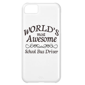 World's Most Awesome School Bus Driver iPhone 5C Covers