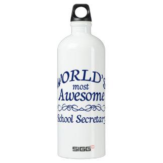 World's Most Awesome School Secretary SIGG Traveler 1.0L Water Bottle