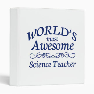 World's Most Awesome Science Teacher Binder